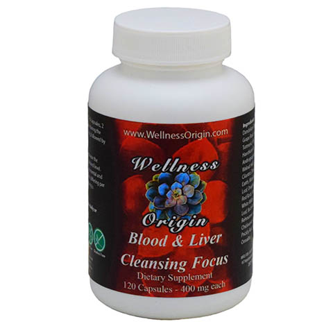 Blood and Liver Cleansing Focus Wellness Origin